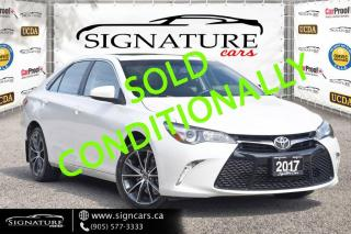 Used 2017 Toyota Camry 4dr Sdn I4 Auto. NO ACCIDENT. ONE OWNER. HEATED SEATS. for sale in Mississauga, ON