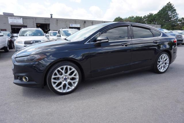 2013 Ford Fusion TITANIUM AWD CERTIFIED 2YR WARRANTY NAVI CAMERA SUNROOF BLUETOOTH LEATHER *FREE ACCIDENT* MEMORY HEATED SEATS