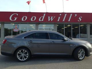 Used 2013 Ford Taurus SEL! CLEAN CARFAX! HEATED LEATHER! SUNROOF! NAV! for sale in Aylmer, ON