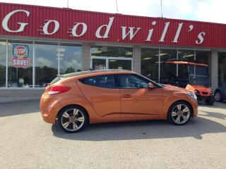 Used 2015 Hyundai Veloster COUPE! CLEAN CARFAX! HEATED SEATS! NAV! B/T! CAM! for sale in Aylmer, ON