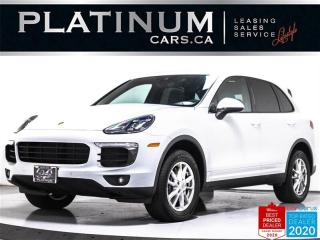 Used 2016 Porsche Cayenne Premium Plus, NAV, PANO, CAM, HEATED/VENT SEATS for sale in Toronto, ON