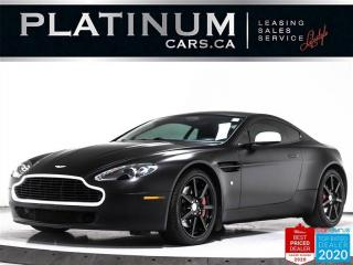 Used 2008 Aston Martin Vantage 4.3L V8, 380HP, NAV, SPORTSHIFT, MEMORY, PUSH STAR for sale in Toronto, ON