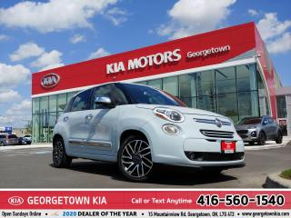 Used 2014 Fiat 500 L LOUNGE | CLEAN CARFAX | BLUETOOTH | B/U CAM | for sale in Georgetown, ON