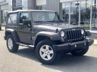 Used 2018 Jeep Wrangler SPORT for sale in Ste-Marie, QC