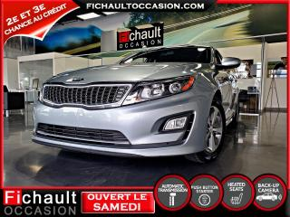 Used 2015 Kia Optima Hybride Lx for sale in Châteauguay, QC