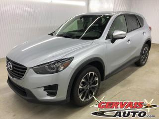 Used 2016 Mazda CX-5 GT AWD GPS Cuir Toit Ouvrant Mags *Traction intégrale* for sale in Trois-Rivières, QC