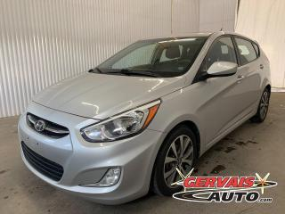 Used 2016 Hyundai Accent SE Toit Ouvrant Sièges Chauffants Mags *Transmission Automatique* for sale in Shawinigan, QC