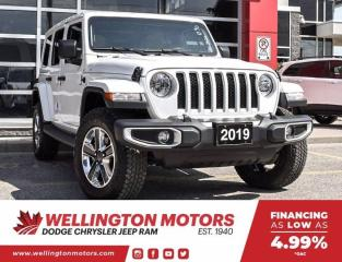Used 2019 Jeep Wrangler Unlimited Sahara --> 6 Speed Manual !! for sale in Guelph, ON