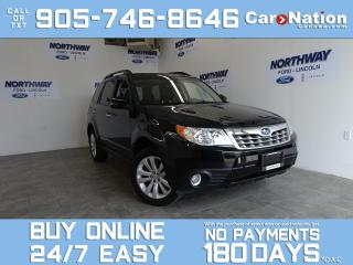 Used 2013 Subaru Forester 2.5X LIMITED | AWD | LEATHER | ROOF | NAV | 43 KM for sale in Brantford, ON