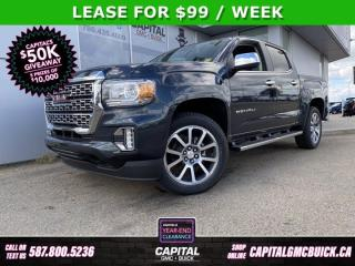 New 2021 GMC Canyon Crew Cab 4WD Denali for sale in Edmonton, AB