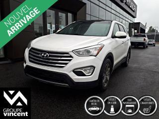 Used 2014 Hyundai Santa Fe Luxury XL AWD 7 PASSERS ** GARANTIE 10 ANS ** Lorsque l'espace est vital et que le confort, la sécurité importent, le XL est le VUS par excellence for sale in Shawinigan, QC