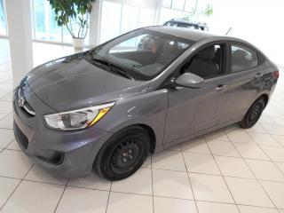Used 2016 Hyundai Accent GL**BLUETOOTH,A/C,CRUISE,TRES BAS KM. for sale in Montréal, QC