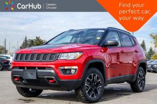 New 2021 Jeep Compass Trailhawk 4x4 Navigation Blind Spot Backup Cam Bluetooth Heated Front Seats 17