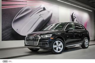 Used 2018 Audi Q5 TECHNIK - 2.0 TSFI - QUATTRO AWD for sale in Sherbrooke, QC