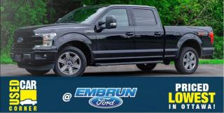 Used 2018 Ford F-150 Lariat for sale in Embrun, ON