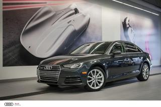 Used 2017 Audi A4 PROGRESSIV - 2.0 TFSI - QUATTRO AWD for sale in Sherbrooke, QC
