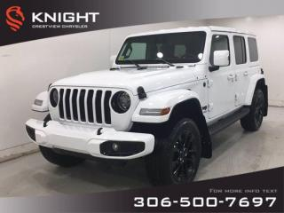 New 2021 Jeep Wrangler High Altitude Unlimited | Leather | Navigation | for sale in Regina, SK