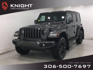 New 2021 Jeep Wrangler High Altitude Unlimited | Leather | Navigation | for sale in Regina, SK