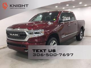 New 2020 RAM 1500 Limited Crew Cab | Leather | Sunroof | Navigation | 12