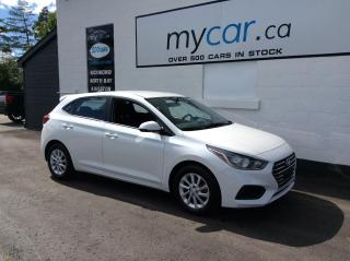 Used 2019 Hyundai Accent Preferred HEATED SEATS, ALLOYS, BACKUP CAM! for sale in North Bay, ON