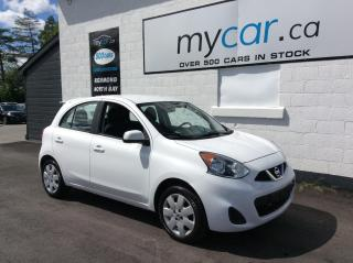 Used 2017 Nissan Micra S A/C, POWERGROUP!! for sale in North Bay, ON
