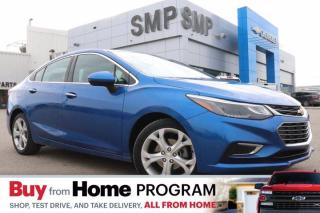 Used 2017 Chevrolet Cruze Premier - Leather, Remote Start, Back Up Camera for sale in Saskatoon, SK