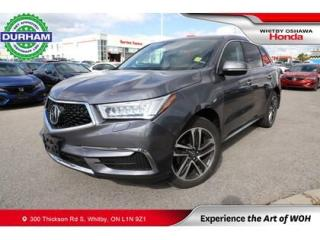Used 2017 Acura MDX SH-AWD for sale in Whitby, ON