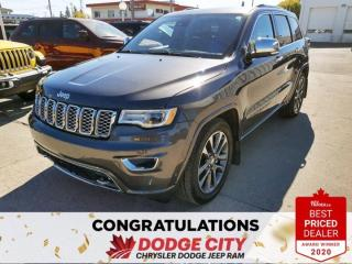 Used 2018 Jeep Grand Cherokee Overland for sale in Saskatoon, SK
