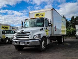 Used 2018 Hino 268 268 Automatic, Diesel, 24 Ft Box,Ramp, Tailgate for sale in Ottawa, ON