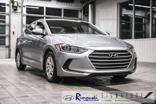 Used 2017 Hyundai Elantra L chez Rimouski hyundai for sale in Rimouski, QC
