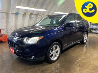 Used 2014 Mitsubishi Outlander GT AWD * V6 * Navigation * Leather Heated Seats *  7 Passenger * Sunroof * Power Lift Gate *  Lane Departure Warning/Forward Collision Warning * Rockf for sale in Cambridge, ON