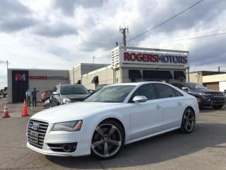 Used 2014 Audi S8 2.99% Financing - NAVI - DVD - SUNROOF - LEATHER for sale in Oakville, ON