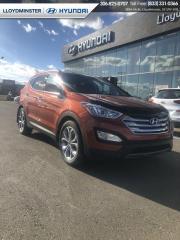 Used 2015 Hyundai Santa Fe Sport Limited for sale in Lloydminster, SK