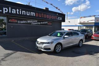Used 2019 Chevrolet Impala 1LT REMOTE START!! BACKUP CAMERA!! BLUETOOTH!! for sale in Saskatoon, SK