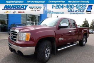 Used 2013 GMC Sierra 1500 *LOW KMs* 4x4* Remote Start* Non Smoker* for sale in Brandon, MB