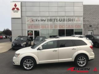Used 2013 Dodge Journey AWD R-T/CUIR/GPS/TOIT/BLUETOOTH/PUSH START for sale in St-Hubert, QC