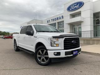 Used 2017 Ford F-150 XLT Sport 4x4 /Leather/Navi for sale in St Thomas, ON