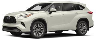 New 2020 Toyota Highlander Hybrid Limited for sale in Stouffville, ON