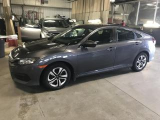 Used 2017 Honda Civic 4 portes, boîte manuelle, LX for sale in Gatineau, QC