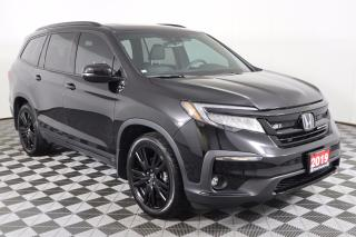 Used 2019 Honda Pilot Black Edition BALANCE OF WARRANTY! NAVIGATION, HEATED & COOLED SEATS for sale in Huntsville, ON