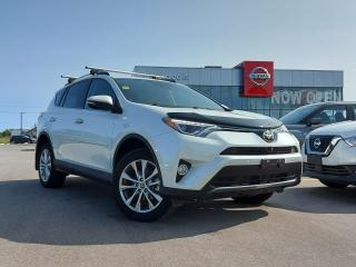 Used 2017 Toyota RAV4 Limited LEATHER, HEATED SEATS, REVERSE CAMERA for sale in Midland, ON