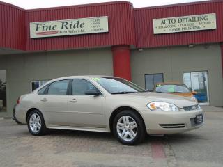 Used 2012 Chevrolet Impala LT for sale in West Saint Paul, MB