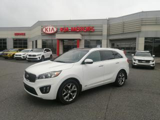 Used 2017 Kia Sorento AWD SX**CUIR **TOIT PANORAMIQUE**GPS**MAG18 for sale in Mcmasterville, QC