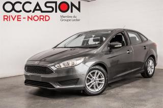 Used 2017 Ford Focus SE MAGS+CAM.RECUL+BLUETOOTH for sale in Boisbriand, QC