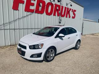 Used 2012 Chevrolet Sonic LT for sale in Headingley, MB