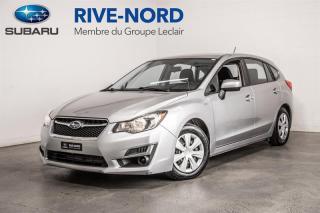Used 2016 Subaru Impreza BLUETOOTH+CAM.RECUL+SIEGES.CHAUFFANTS for sale in Boisbriand, QC