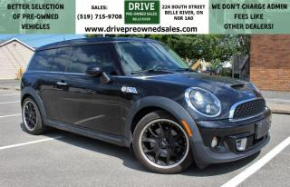 Used 2011 MINI Cooper Clubman S Low Low K's Heated Leather Sun Roof Bluetooth for sale in Belle River, ON