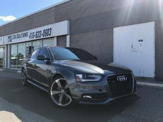 Used 2014 Audi A4 Progressiv-S-line-6 speed for sale in Toronto, ON