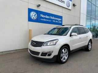 Used 2015 Chevrolet Traverse LTZ - LEATHER / SUNROOF / LOADED! for sale in Edmonton, AB
