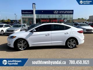 Used 2017 Hyundai Elantra GLS/SUNROOF/HEATED SEATS & STEERING/BACKUP CAM for sale in Edmonton, AB